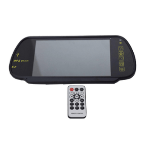 Rearview Monitor With USB & SD Card