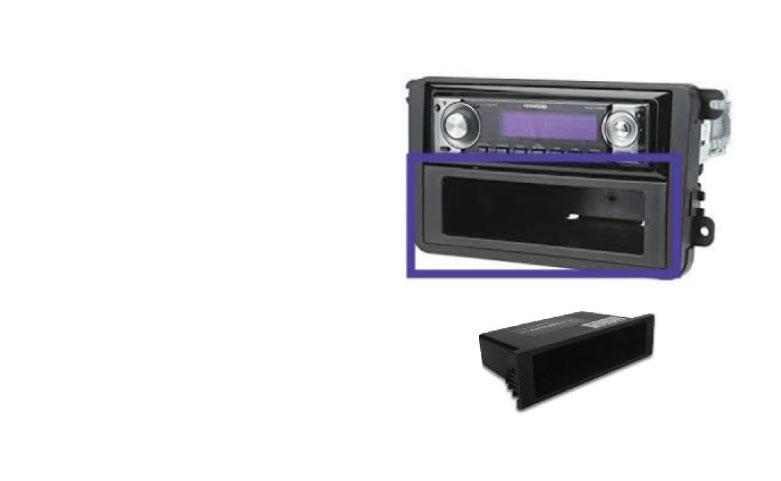 Single Din Car Radio Pocket Spacer