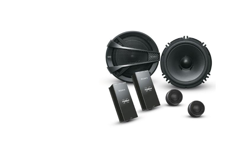 SONY XS-XB1621C Component Speakers