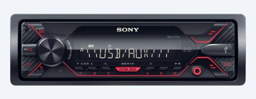 Sony DSX-A110U Car Radio with USB & AUX Input.