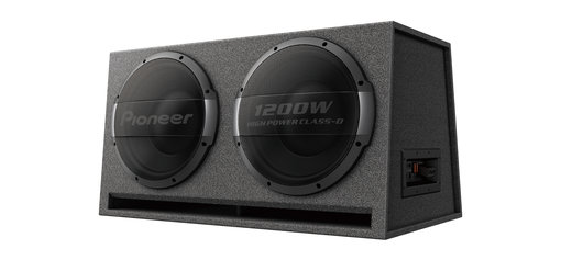 TS-WX1220AH Double bass Reflex powered Subwoofer.