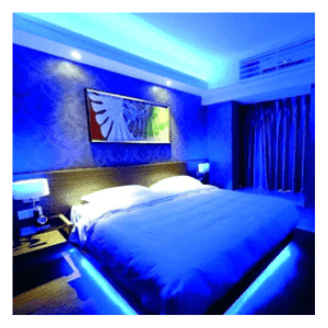 blue 5 Metre Set LED light Strip